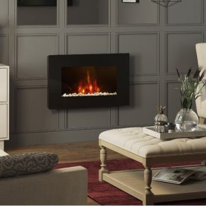 Azonto Wall Mounted Fireplace