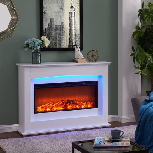 Bodnar Poplar Electric Fire Suite