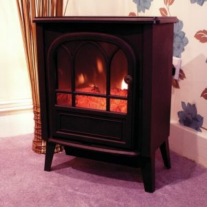 Class Electric Fireplace