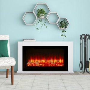 Lumley Electric Fire Suite