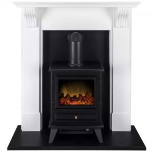 Belfry Electric Fireplace Suite