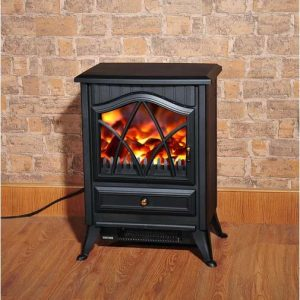 HomCom Electric Fireplace